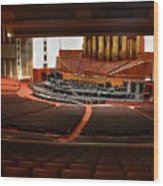 Assembly Hall Temple Square Wood Print