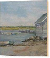 Assistant Harbor Master Wood Print