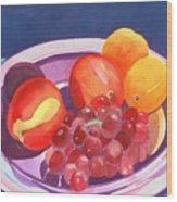 Assorted Fruit Wood Print