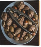 Assorted Nuts Wood Print