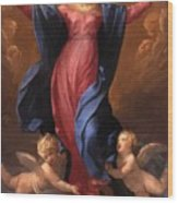 Assumption Of The Virgin 1580 Wood Print