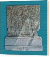 Assyrian Relief 02 Wood Print