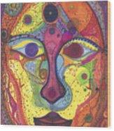 Asta Wood Print by Daina White