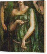 Astarte Syriaca Dante Gabriel Rossetti Wood Print