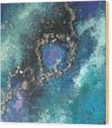 Asteroid Ring Wood Print