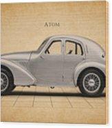 Aston Martin Atom Wood Print