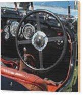 Aston Martin Dashboard Wood Print