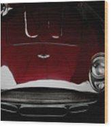 Aston Martin Db-4 Sans Paint Wood Print