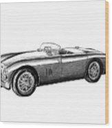 Aston Martin Db-5 Wood Print by Peter Piatt