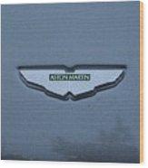 Aston Martin Logo # 1 Wood Print