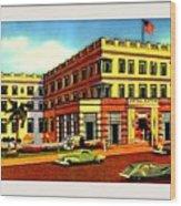 Astor Hotel, Miami Beach Fl, 1938 Wood Print