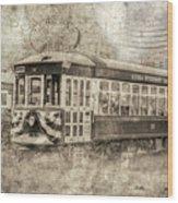 Astoria Trolley Wood Print