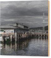 Astoria Waterfront 2 Wood Print