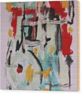 Astract 7206 Wood Print