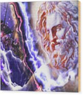 Astral Experience Wood Print