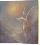 Astral Pegasus Wood Print