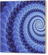 Astral Vortex Wood Print