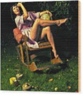 Astrologer40x60 Wood Print