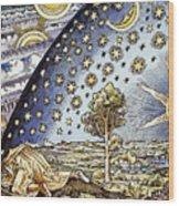 Astrology, 16th Century Wood Print