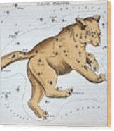Astronomy: Ursa Major Wood Print