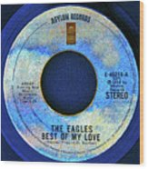 asylum Records and the Eagles Wood Print