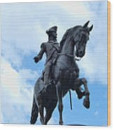 At Arlington Street Wood Print