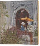 At Balboa Park Wood Print
