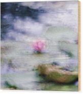 At Claude Monet's Water Garden 12 Wood Print