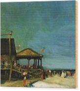 At Far Rockaway 1902 Wood Print