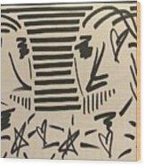 At First Sight Wood Print