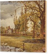 At Hale Lancanshire Wood Print