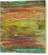 At Low Tide Wood Print