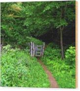 At Ma Gate Wood Print