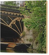 At Magdalene Bridge. Wood Print