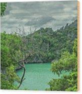 At Moo Koh Angthong Marine Park Wood Print