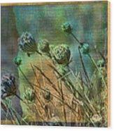 At River's Edge Wood Print