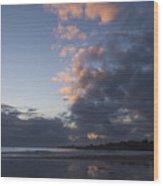 At Sundown 12/24/15 Wood Print