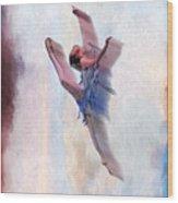 At The Ballet Wood Print