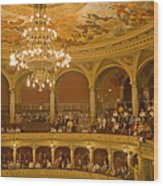 At The Budapest Opera Wood Print