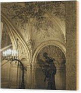 At The Opera Wood Print