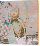 At The Pink Pace Wood Print