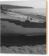At the Sea of Libya Wood Print