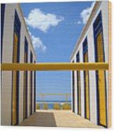 At The Seashore 2 Wood Print