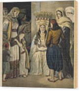 Athenian Bride Wood Print