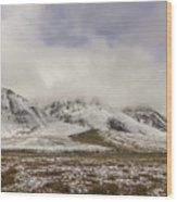 Atigun Pass Brooks Range Alaska Wood Print