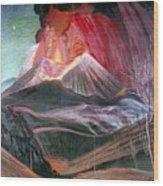 Atl: Volcano, 1943 Wood Print