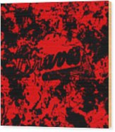Atlanta Braves 1a Wood Print