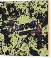 Atlanta Braves 1c Wood Print