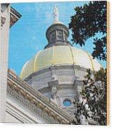 Atlanta Capital Wood Print