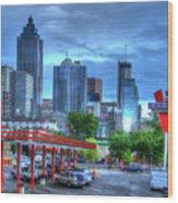Atlanta Landmark The Varsity Art Wood Print
